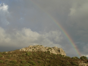 Rainbow Over Trinita