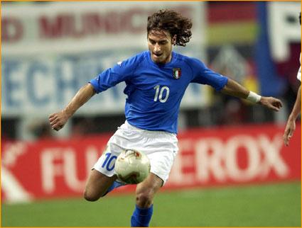 Top 7 Shirtless Italian Soccer Players (2/6)