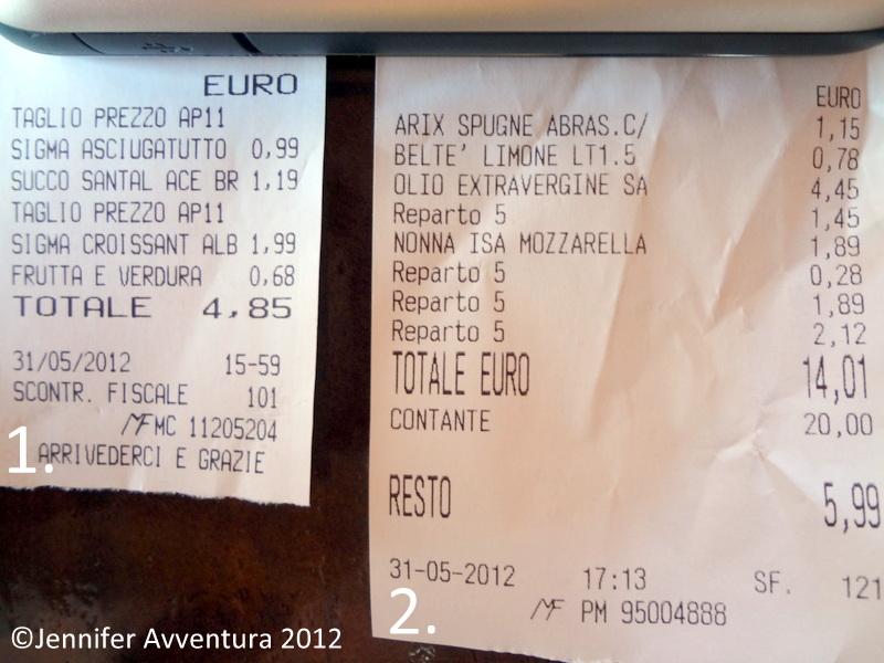 Cost of Living 2012 | Sardinia, Italy