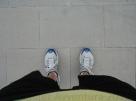 My big feet in Vienna, Austria