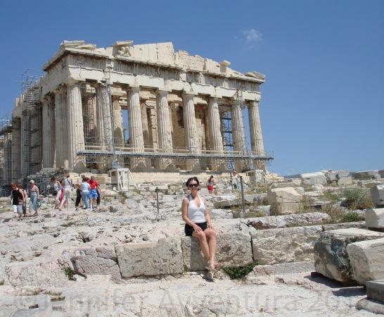 The big and beautiful Acropolis in Greece