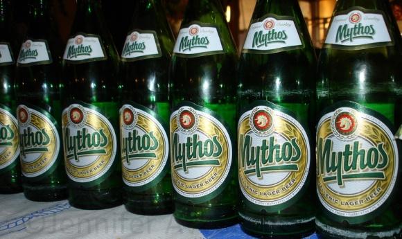 Very big beers in Greece