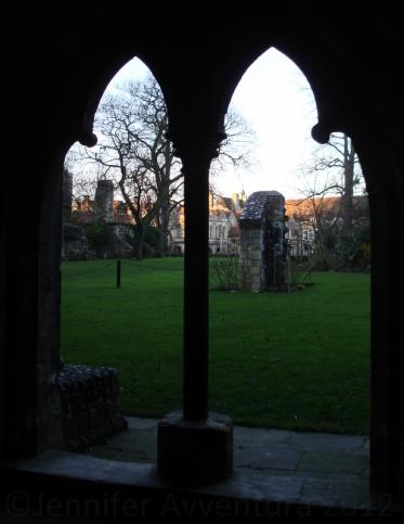 Cantebury Castle Silhouette