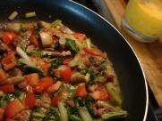 Local veggie stir-fry