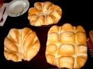 Freshly baked Sardinian Bread