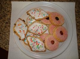 Sardinian cookies
