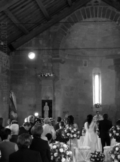 A modern day Sardinian wedding
