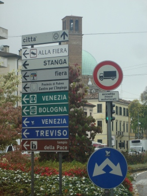 Foreign street signs