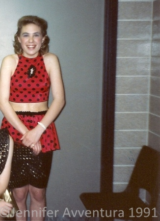 Ok, not really a halloween costume - but my Jazz costume! Snap!