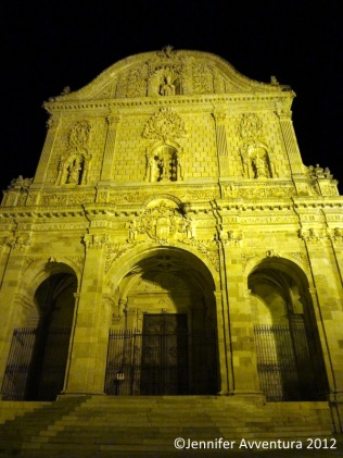 San Nicola by night