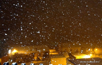Here comes the snow - Feb 2nd, 2012