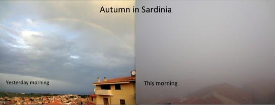 October in Sardinia