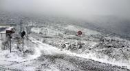 Snow in Sardinia