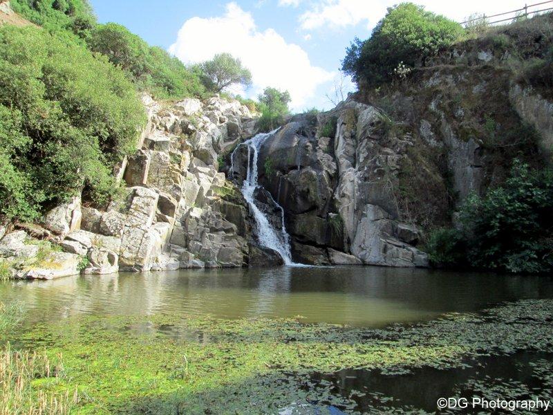 cascata triulintas  martis  sardinia