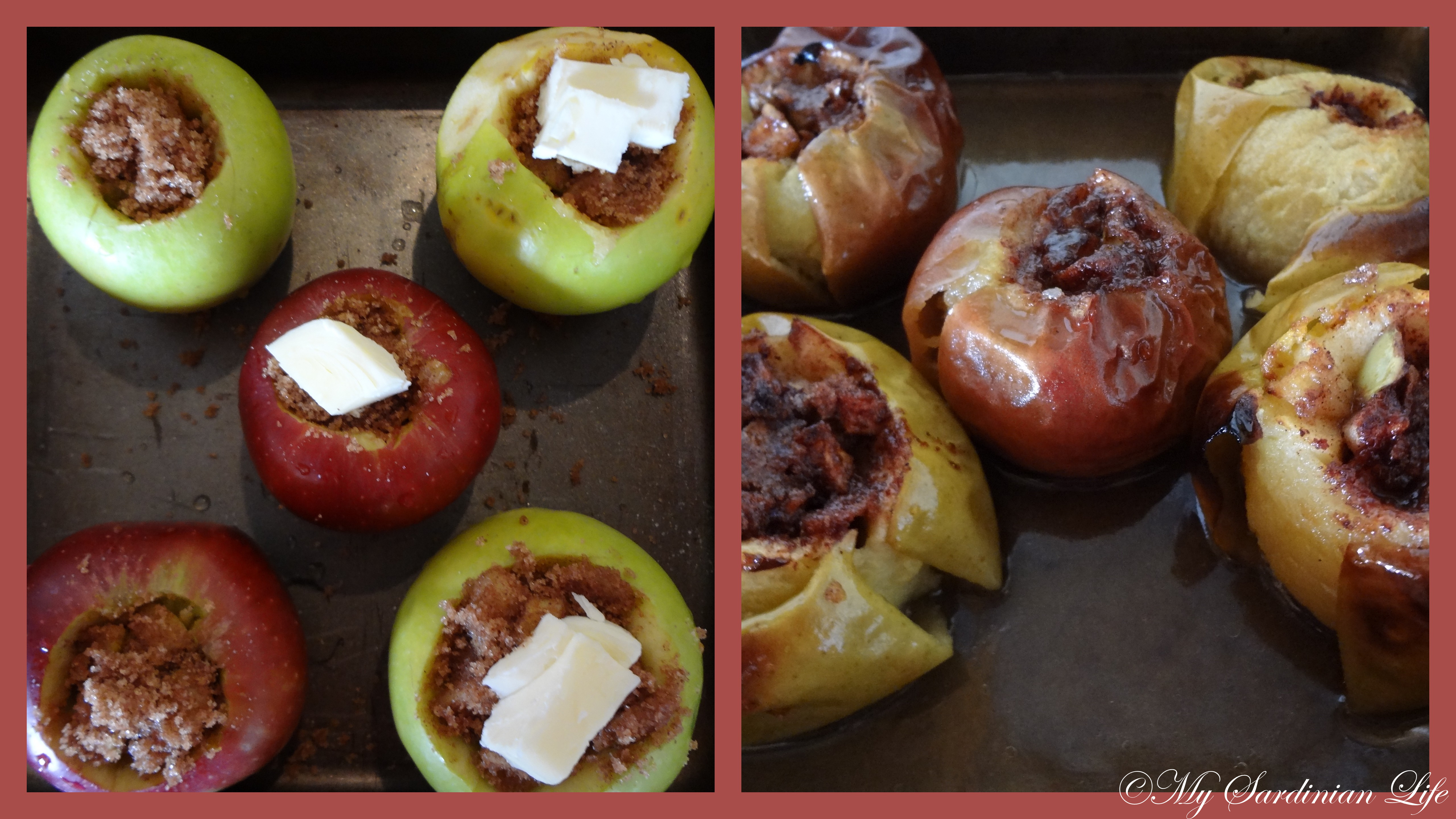 Super Easy Bored Baked Apples | My Sardinian Life