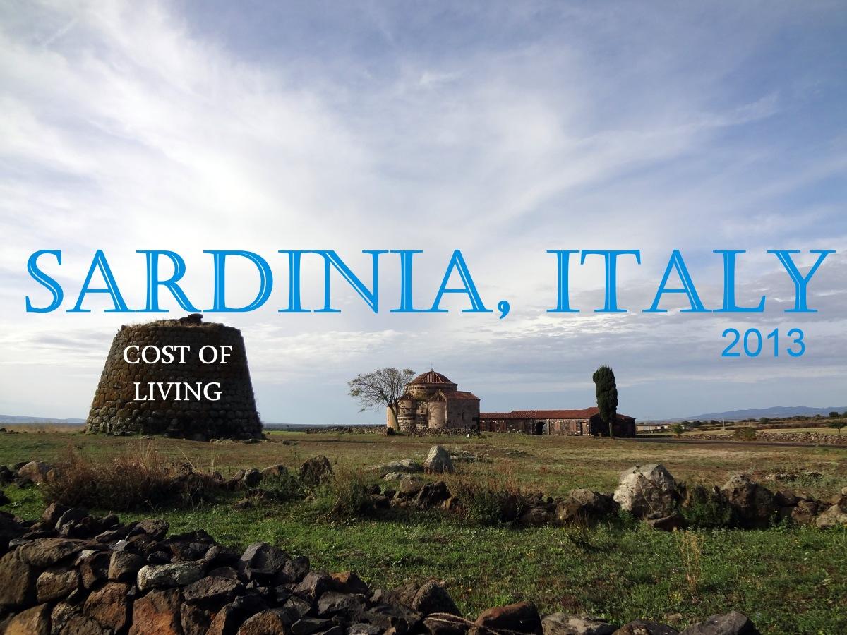 cost of living 2013  u2013 sardinia  italy