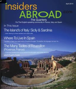 Insiders Abroad April Edition