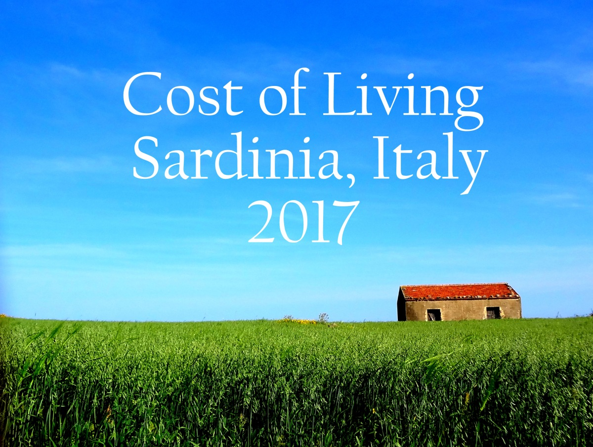 cost of living report sardinia italy 2017